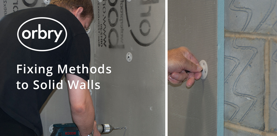Fixing Methods to Solid Walls