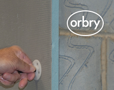 Fixing Orbry Boards to Solid Walls