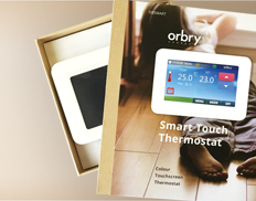 Orbry Smart Touch Thermostat – The Smarter Way to Control UFH