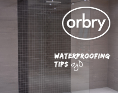 Orbry Wet Room Waterproofing Tips