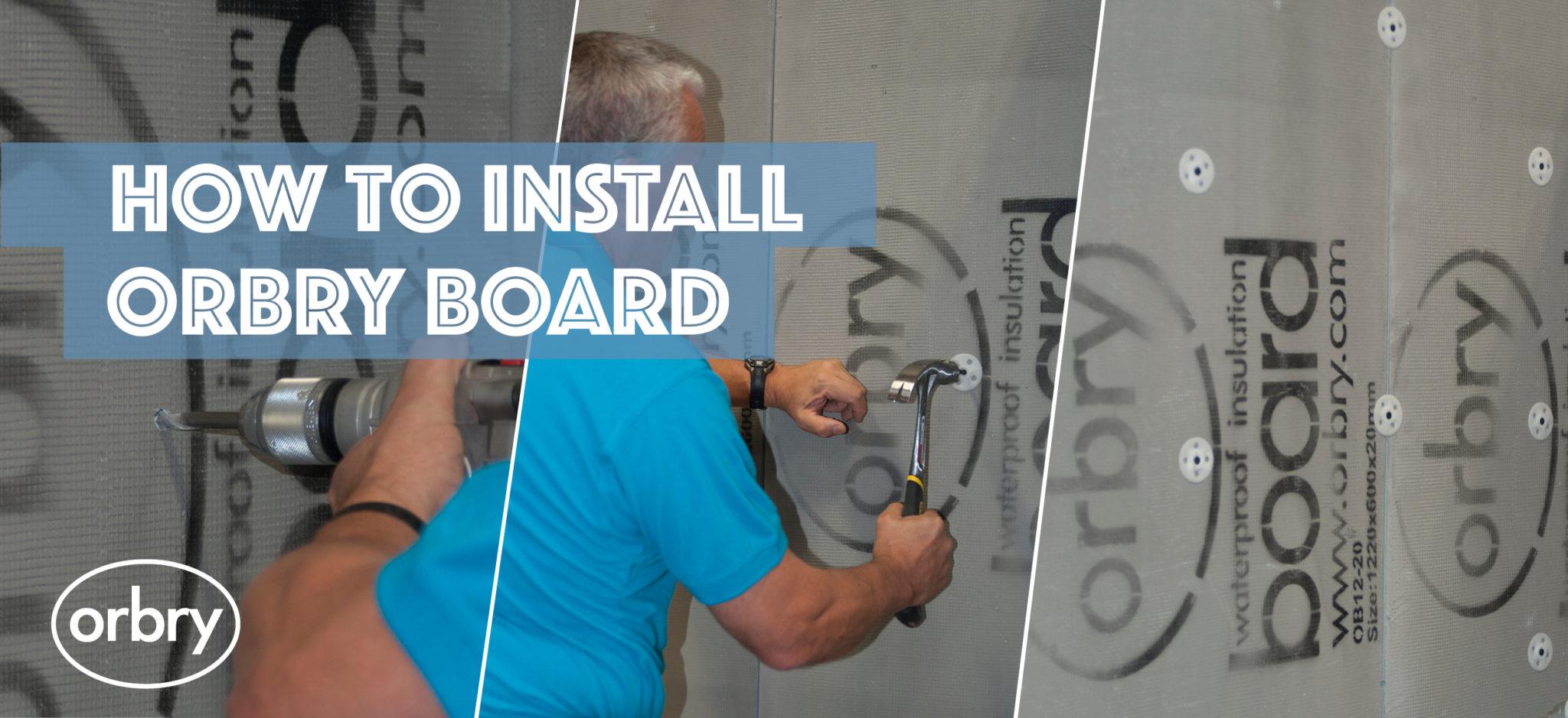 Install Orbry Board